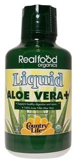 Country Lifes Realfood Organics Liquid Aloe
