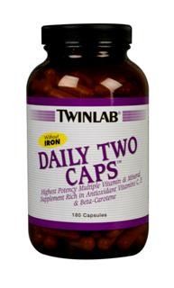 Daily Two is a balanced twice a day multivitamin and mineral formula needed for optimal health and disease prevention. It is rich in antioxidant vitamins C, E and beta-carotene. .