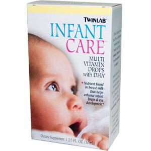 Contains nutrients present in breast milk which help enhance infant brain & eye development..