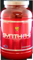 The key ingredients in Syntha-6 provide support for: Multi-Functional Micellar Protein Matrix; Bioactive Protein Utilization Enzymes AZORB; BCAA's & Other Essential Amino Acids; MCT's, EFA's, & Glutamine Peptides; Aspartame Free.