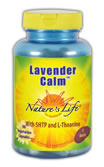 With 5 HTP and L-Theanine Nature's Life Lavender Calm dietary supplement is a proprietary blend of botanicals traditionally used for mood and stress support.
