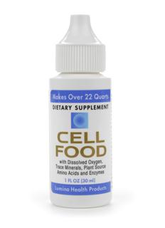 Cellfood is packed with health-restoring nutrition; 78 trace ionic elements, 34 metabolic and digestive enzymes, 17 amino acids, electrolytes, and the unique ability to release abundant oxygen & hydrogen into the body..