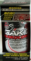 GAKIC Hardcore, sports supplement which helps to achieve rapid increases in strength, while allowing you to reach levels of intensity and focus like never before..