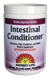 Intestinal Conditioner from Natures Life nurtures the gastrointestinal system for a healthy absorption of ingested nutrients..