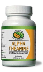 Alpha Theanine (Suntheainine) has been clinically shown to promote calmness by enhancing the production of alpha brain waves. Many neuro-scientists believe the higher production of alpha brain waves is also associated with greater creativity and mental focus..