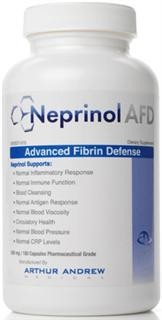 Neprinol from Arthur Andrew Medical - Highest Potency Systemic Enzyme Blend Available - Compare to Trevinol ES, Wobenzym N, Toto-Zymes.