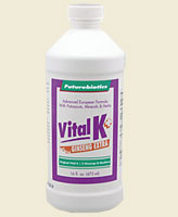 Vital K + Ginseng Extra is a Potassium, Iron and herbal energizing liquid supplement. Korean Ginseng, American Ginseng, Eleuthero root, Chamomile, Sarsaparilla, Dandelion and Alfalfa, to name just a few..