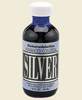Futurebiotics Advanced Colloidal Silver is a high-quality, chemical-free elemental Silver dietary supplement that consists of ultra-fine, microscopic Silver particles suspended in pure, deionized water for easy absorption by the body..