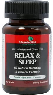 Relax & Sleep is a natural, non-addictive formula engineered to produce a mild, relaxing effect and support natural sleep. It includes the nutrients Calcium & Magnesium, along with a special relaxing botanical blend..