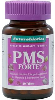 PMS Forte delivers a potent blend of vitamins, minerals and botanicals designed to nutritionally support menstrual and premenstrual needs. A comprehensive formula, PMS Forte contains an array of specially combined vitamins and minerals important for helping to obtain maximum nutritional support and balance, which can be very beneficial during the premenstrual and menstrual phases..