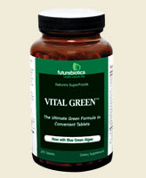 Vital Green contains multiple green whole-juice concentrates, which are the green juice fraction from freshly harvested, undried young plants grown in rich, fertile soil. Alfalfa roots burrow deep into the earth to absorb a variety of nutrients and reach minerals inaccessible to many other plants. It contains naturally-occurring beta-carotene, calcium, magnesium and potassium..