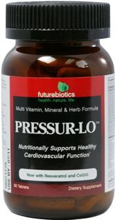 Pressur-Lo is a broad-spectrum formula packed with an array of nutrients, botanicals and other key factors to nutritionally support cardiovascular function, with a particular emphasis on nutritionally supporting healthy blood pressure levels within the normal range..