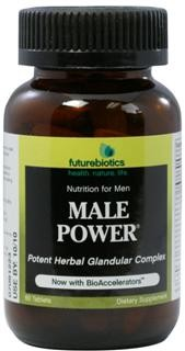 Male Power is a power-packed, concentrated herb and glandular formula designed to help support peak performance and an active lifestyle. It is the ultimate blend of modern nutritional science and traditional herbalism..