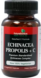 Echinacea, Propolis + C is a specially formulated blend of Vitamin C and select botanicals, including an Echinacea complex, Bee Propolis extract, Citrus Bioflavonoids and Acerola berries designed to provide seasonal defense and nutritionally support healthy immune function..