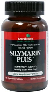 Silymarin Plus combines Milk Thistle extract, standardized for 80% silymarin, with six other supportive herbs and nutrients including Dandelion root and Beet root. This unique, vegetarian formula helps nutritionally support healthy liver function.*  Milk Thistle extract has been used for centuries for both digestion and liver concerns..
