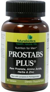 Prostabs Plus is a synergistic combination of nutrients traditionally used to support prostate health. It contains the benefits of Raw Prostate Glandular, targeted botanicals including Saw Palmetto extract, amino acids and select nutrients. Prostabs Plus is part of a series of advanced state-of-the-art nutritional supplements designed especially for today's health-conscious man..