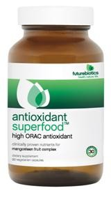 Research has shown the potent natural antioxidants found in AntioxidantSuperfood help reduce free radicals and their damaging effects. A daily intake of 3,000 to 5,000 ORAC units, the standard for antioxidant value, is believed to significantly impact antioxidant activity..