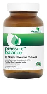 PressureBalance combines 150 mg of MegaNatural-BP with other targeted, heart-healthy ingredients in a special 100% vegetarian liquid delivery system, Licaps..