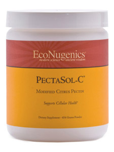 PectaSol-C modified citrus pectin is a highly absorbable soluble dietary fiber. This natural product is derived from the pith of citrus fruits, and is modified utilizing an enhanced process resulting in improved molecular weight and chain characteristics. PectaSol-C product is recognized primarily for its ability to promote healthy cell growth and proliferation..