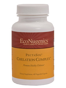 PectaSol Chelation Complex is a combination of modified citrus pectin and a modified alginate compound. This formula supports safe and efficacious detoxification, and can be utilized to both actively chelate toxins and prevent absorption of toxins at the time of exposure..