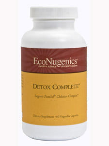 Detox Complete is a multi-nutrient compound specifically formulated for 2nd stage use with PectaSol Chelation Complex. This product is introduced after toxicity has been significantly reduced, and is taken concurrently with PectaSol Chelation Complex. This formula is a strong chelating compound which also provides liver and urinary system support..