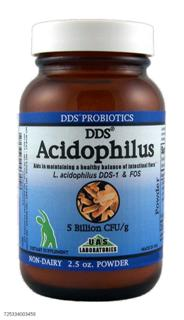 Today's active lifestyle, poor eating habits and job related stress can really take a toll on your body. DDS Acidophilus is a crucial supplement for leading a more healthy, rewarding life..