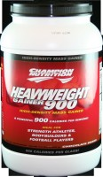 Heavyweight Gainer 900 is so effective in adding and maintaining size it is a favorite among professional football players. Now with 35 grams of protein per servings!.