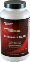 Wellness Nutrition BCAAs delivers a 2:1:1 ratio reduction in muscle fatigue, speeds recovery, decreases the loss of other amino acids, and helps the body absorb protein. .