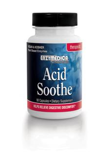 The ingredients in Acid Soothe provide the body with pure plant enzymes for delivery with nutrients specific to the gastrointestinal region.