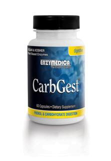 he enzymes in CarbGest are ideal for those that have phenol sensitivities or vegetarians who favor carbohydrate rich meals with small amounts of protein..