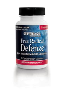 Free Radical Defenze contains a high potency blend of enzymes and nutrients studied for their antioxidant properties. Increase Glutathione Levels, Improve Liver Detoxification, Reduce Free Radical Damage.