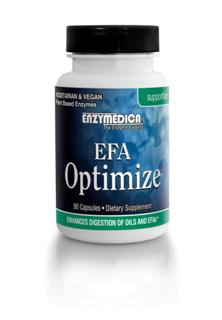 One capsule of EFA Optimize taken with your essential fatty acid supplement will help ensure that your EFA's are doing their job..