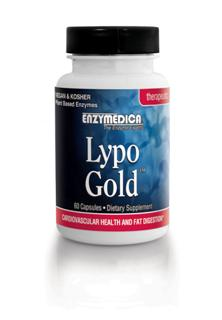 Lypo Gold has been formulated to support cardiovascular health, gallbladder function and address the symptoms of lipase deficiency.