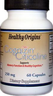 Cognizin Citicoline supports memory function and healthy cognition..