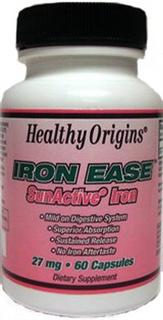 Iron Ease has a unique sustained release delivery system that has very high iron absorption after 12 hours following oral administration and without the iron aftertaste..