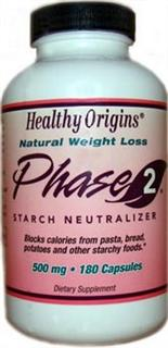 Healthy Origins Phase2 Starch Neutralizer is a safe and powerful nutritional supplement which allows you to enjoy those foods that you love without all the calories..