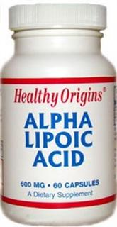 Healthy Origins  Alpha Lipoic Acid is a powerful antioxidant. It works synergistically with other antioxidants such as Vitamin E, C and glutathione..