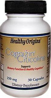 Healthy Origins Cognizin is a trademark for Citicoline, a nutrient that supports memory function and healthy cognition..