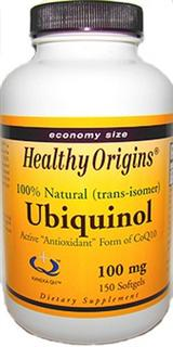 Kaneka QH Ubiquinol, active form of CoEnzyme Q10, which benefits your natural energy and vitality. Everyday Best Value, 150 capsules of Ubiquinol 100mg..