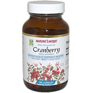 Nature's Herbs Cranberry Juice Concentrate capsules contain only the finest quality Cranberries available, indicated by a zestful tartness and fresh, plump appearance. Our fresh juicy berries are extracted and concentrated by a spray-dry cold process retaining and enhancing the important healthful benefits of fresh Cranberry juice..