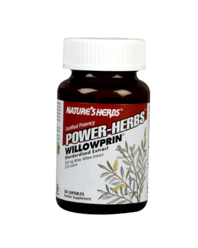 A potent standardized extract of White Willow Bark, 100 mg per capsule concentrated and standardized for a minimum of preferred 15% Salicin, in a synergistic base of White Willow Extract 5:1 and White Willow Bark.  .