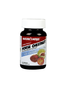 Horse Chestnut-Power contains 257 mg Horse Chestnut Seed Extract, standardized for 18-22% Triterpenoid glycosides, calculated as Escin, a complex mixture of triterpenoids) per capsule..