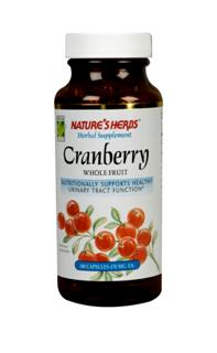 Nature's Herbs Cranberry Whole Fruit comes from select quality berries grown in North America. .