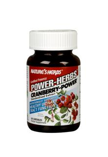 Nutritionally Supports Healthy Urinary Tract Functions. Cranberry-Power is standardized for the preferred concentration of 40 mg Organic Acids, synergistically combined in a base of freeze-dried whole cranberry.  .