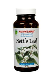 Natures Herbs Wild Countryside Nettle Leaf is harvested from Eastern Europe. Nettles naturally contain a variety of vitamins and minerals. Mature nettles are covered by stinging hairs that cause a burning sensation when touched.  .