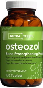 Osteozol contains highly absorbable calcium and vitamin D, plus a whole wealth of other nutrients that support bone health..