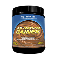 Metabolic Response Modifiers' All Natural Gainer is a food supplement which provides the body with useful calories and may help to increase and maintain a healthy metabolism in addition to increasing lean muscle mass..