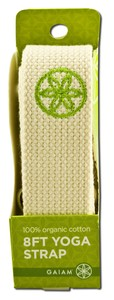 Cotton Yoga Strap allows you to enjoy the full benefits of practicing yoga. Cinch buckle tightens strap securely yet allows for quick and easy release..