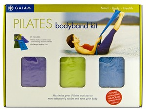 The Pilates BodyBand Kit provides all the tools and insturction for a fast, effective, body-toning workout. Includes the  Pilates Bodyband Workout DVD with certified Pilates instructor Ana Caban..