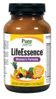 LifeEssence Women's Formula provides wholefood based vitamins and minerals, that are joined by enzymes, trace elements, carotenoids, bioflavonoids, co-nutrients, immune factors and more..
